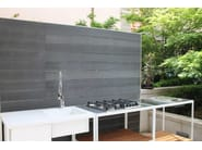 Wooden solar shading plus profile 120x10 - plasticWOOD.it