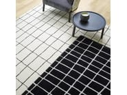 Rectangular wool rug with geometric shapes QUADRIC - ROSET ITALIA