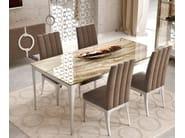 Upholstered high-back chair QUARTZ | High-back chair - Caroti