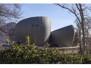 Continuous metal laminate for facade QUARTZ-ZINC® - UMICORE BUILDING PRODUCTS ITALIA