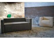 2 seater leather sofa QUINCY | Sofa - Domingo Salotti