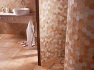 Glazed stoneware wall tiles with terracotta effect QUINTANA | Wall tiles - Serenissima