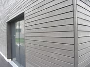 Outdoor spruce wall tiles RADIALWOOD - ALCE
