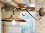 Direct-indirect light metal wall lamp RE LEAR | Metal wall lamp - Aldo Bernardi