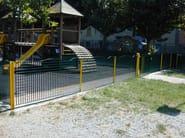 Modular steel Fence MULTI ONDA - SMEC