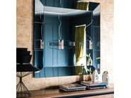 Wall-mounted framed mirror REGAL - Cattelan Italia