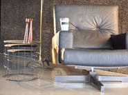 Low round coffee table RETON | Round coffee table - Atipico