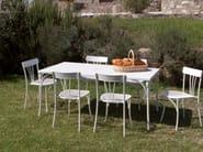 Rectangular garden table RETRÒ | Rectangular table - Talenti