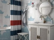 Rhombus WALL White, Ash Blue 15,2x26,3