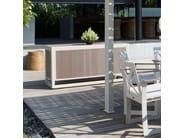 Mobile da giardino / madia in polipropilene RHONE 23174 - SKYLINE design