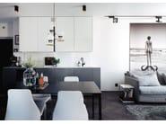 Painted-finish stainless steel kitchen mixer tap RHYTHM RH-320 - Nivito