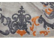 Patterned handmade rectangular rug RICHELIEU MANGO - EDITION BOUGAINVILLE