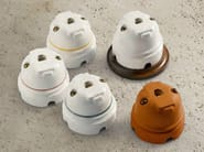 Single ceramic electrical outlet RIGEL | Telephone socket - Aldo Bernardi