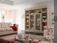 Wall-mounted wooden bookcase ROMANTIC LIGHT   Bookcase - Callesella Arredamenti S.r.l.