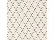 Porcelain stoneware wall/floor tiles ROMBINI LOSANGE WHITE GREY - MUTINA