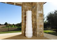 Polyethylene vase ROO - PLUST Collection by euro3plast