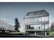 Aluminium Metal shingle for roof ROOF RHOMBOID PANEL - PREFA ITALIA