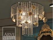 Lampadario a luce diretta ROSA | Lampada a sospensione - Arvestyle