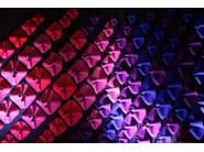 ROSETTE: MULTICOLOUR Decorative acoustic panel
