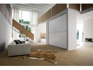 Wardrobe with coplanar doors ROUTE - Silenia