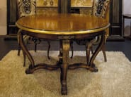 Round solid wood living room table ROYAL | Table - Arvestyle