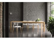 Extending oak table RUBINO | Extending table - Dall'Agnese