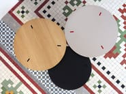 Round coffee table for living room RYUTARO - Viccarbe