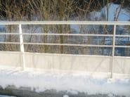 Aluminium Road railing Road railing - ALUSCALAE