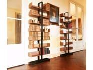 Open freestanding divider wooden bookcase SÉVERIN Bookshelf 1 - Alex de Rouvray design