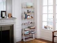 Double-sided freestanding wooden bookshelf SÉVERIN Bookshelf 2 - Alex de Rouvray design