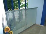 Aluminium Stair railing S. CLEMENTE - ALUSCALAE