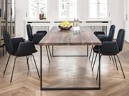 Rectangular wooden dining table S700 - Janua