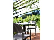 Fabric garden chair with armrests SAIA | Chair with armrests - Varaschin