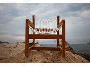 Natural fibre garden armchair SAINT MORITZ | Armchair - Sérénité Luxury Monaco