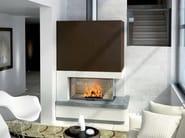 Natural stone Fireplace Mantel SALMA - Axis