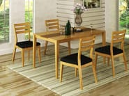 Rectangular wooden garden table SALONE - Enjoy your Life by Idrobase Group