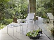 Aluminium garden chair with armrests SAMBA RIO   Garden armchair - Roberti Rattan