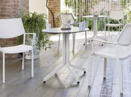 HPL garden table SAMBA RIO | Round table - Roberti Rattan