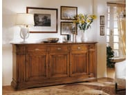 Solid wood sideboard with drawers SAN MARCO | Sideboard - Arvestyle