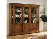 Solid wood display cabinet SAN MARCO | Solid wood display cabinet - Arvestyle