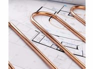 Pipes for heating system SANCO® Radiant - Serravalle Copper Tubes