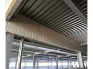 Corrugated and undulated sheet steel SAND150 CLS - SANDRINI METALLI