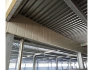 Corrugated and undulated sheet steel SAND150 | Metal sheet and panel for roof - SANDRINI METALLI