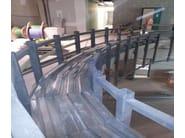 Corrugated and undulated sheet steel SANDA55 P600 | Metal sheet and panel for roof - SANDRINI METALLI