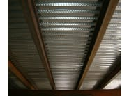 Corrugated and undulated sheet steel SANDA55 P600 | Metal sheet and panel for roof - SANDRINI METALLI