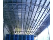 Corrugated and undulated sheet steel SANDA75 P570 | Metal sheet and panel for roof - SANDRINI METALLI