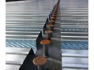 Lamiera grecata per solai a secco SANDA75 P570 | Lamiera metallica - SANDRINI METALLI