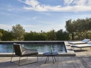 Rope garden armchair with armrests SANDUR | Rope armchair - OASIQ