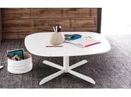 Tavolino in vetro da salotto SASSI | Tavolino in vetro - Calligaris