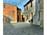 Cement outdoor floor tiles with stone effect SASSO PIANO - FAVARO1
